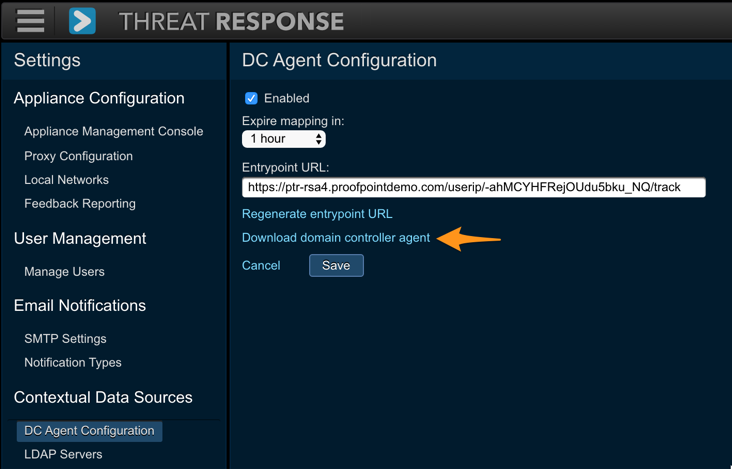 Installation guide - Proofpoint Threat Response